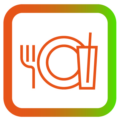 Icon eten en drinken